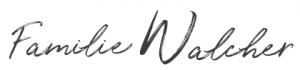 Familie Walcher - Unterschrift