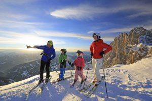 Skispaß für die ganze Familie
