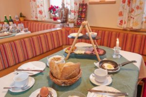 Frühstück am Zeiserhof